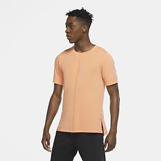Nike Yoga Dri-FIT Kortermet overdel til herre