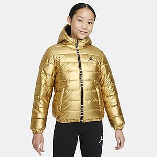Jordan Prošívaná bunda pro větší děti (dívky)