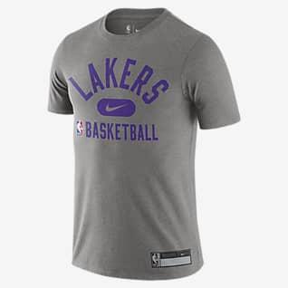 Los Angeles Lakers เสื้อยืด Nike Dri-FIT NBA ผู้ชาย