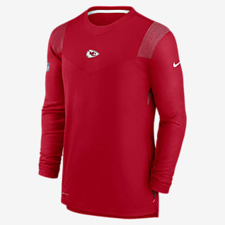 Nike Dri-FIT Sideline Player UV (NFL Kansas City Chiefs) Men's Long-Sleeve T-Shirt