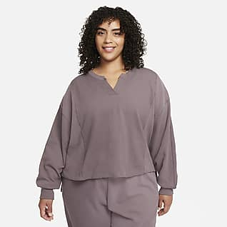 Nike Yoga Luxe Dri-FIT Women's Cover-Up (Plus Size)