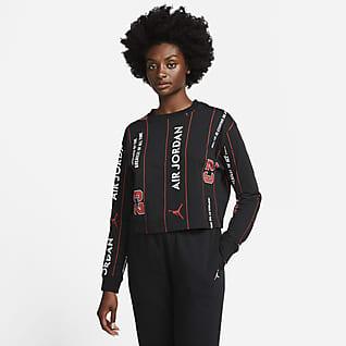 Jordan Langærmet T-shirt til kvinder