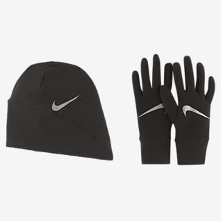 Nike Essential Women's Running Hat and Glove Set