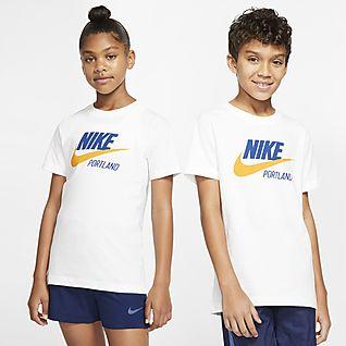 Nike Sportswear Portland Big Kids' T-Shirt