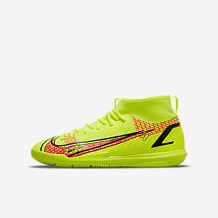 Nike Jr. Mercurial Superfly 8 Academy IC Indoor/Court Soccer Shoes