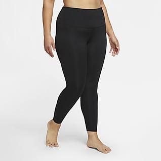 Nike Yoga Leggings de cintura alta de 7/8 para mujer (talla grande)