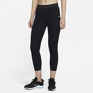 Nike Pro Женские слегка укороченные леггинсы