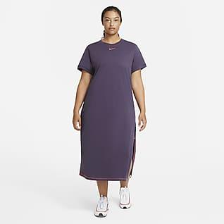 Nike Sportswear Icon Clash Abito maxi (Plus size) - Donna