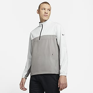 Nike Shield Victory Golfjack met halflange rits voor heren