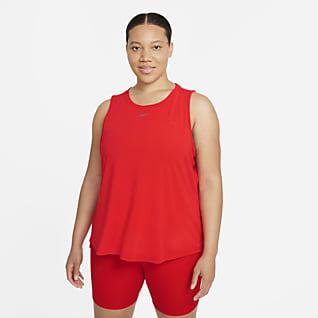 Nike Dri-FIT One Luxe Camiseta de tirantes de ajuste estándar para mujer (talla grande)