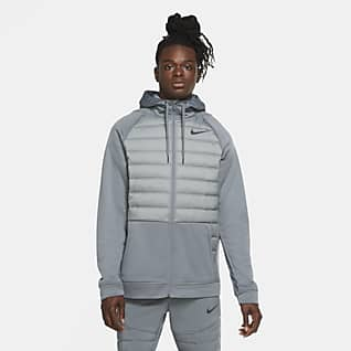 Nike Therma Casaco de treino com fecho completo para homem