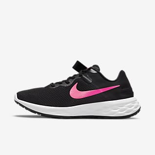 Nike Revolution 6 FlyEase Next Nature รองเท้าวิ่งโร้ดรันนิ่งใส่และถอดง่ายผู้หญิง