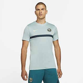 Club América Academy Pro Camiseta de fútbol de manga corta para hombre