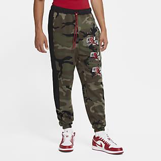 Jordan Jumpman Classics กางเกงผ้าฟลีซผู้ชายลายพราง