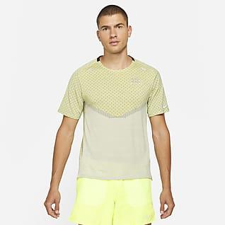 Nike Dri-FIT ADV Run Division Techknit Kortärmad tröja för män