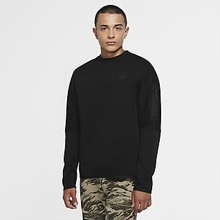 Nike Sportswear Tech Fleece Pánská mikina s kulatým výstřihem