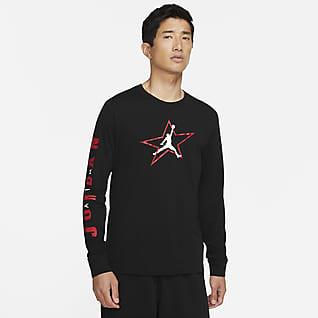 ジョーダン AJ6 メンズ グラフィック ロングスリーブ Tシャツ