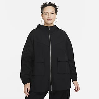Nike Sportswear Icon Clash Casaco para mulher (tamanhos grandes)