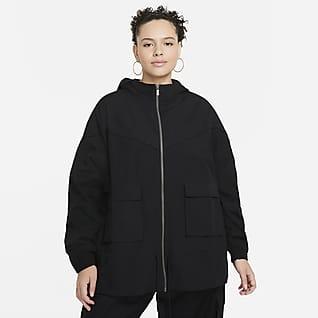 Nike Sportswear Icon Clash Kadın Ceketi (Büyük Beden)