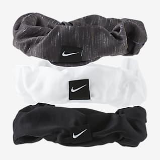 Nike Cintas para el pelo fruncidas (paquete de 3)
