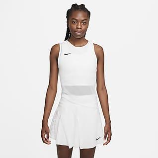 NikeCourt Dri-FIT ADV Slam Camiseta de tirantes de tenis para mujer