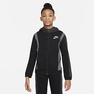Nike Sportswear Amplify Big Kids' (Boys') Full-Zip Hoodie