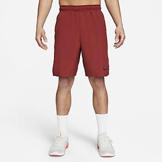 Nike Flex กางเกงเทรนนิ่งแบบทอขาสั้นผู้ชาย