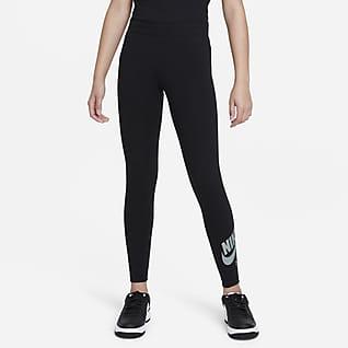 Nike Air เลกกิ้งเด็กโต (หญิง)