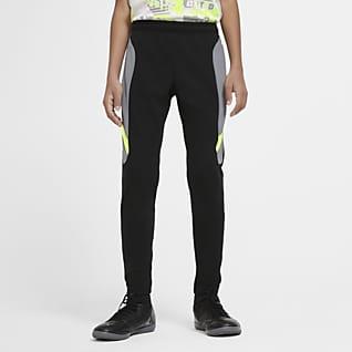 Nike Dri-FIT Academy Pantalones de entrenamiento de fútbol tejidos para niños talla grande