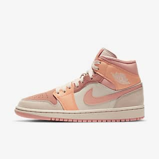 Air Jordan 1 Mid Sko för kvinnor