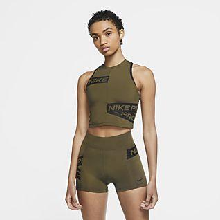 Nike Pro Camiseta de tirantes con gráficos para mujer