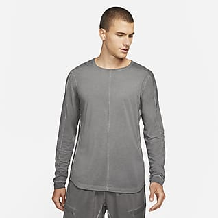 Nike Yoga Playera de manga larga para hombre