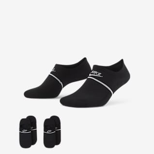 Nike SNEAKR Sox No-Show Footies (2 Pairs)