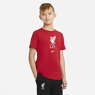 Liverpool FC เสื้อยืดฟุตบอลเด็กโต