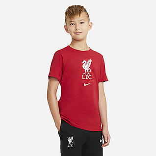 Liverpool FC Older Kids' Football T-Shirt