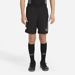 Nike Dri-FIT Academy Older Kids' Graphic Football Shorts