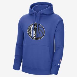 Dallas Mavericks Essential Men's Nike NBA Fleece Pullover Hoodie