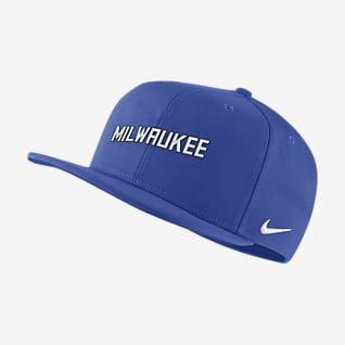 Milwaukee Bucks City Edition Бейсболка НБА Nike Pro