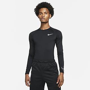 Nike Pro Dri-FIT Haut à manches longues et coupe ajustée pour Homme