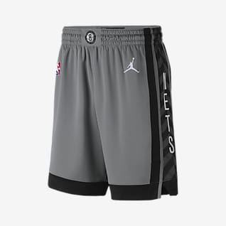 Nets Statement Edition 2020 Short Jordan NBA Swingman pour Homme