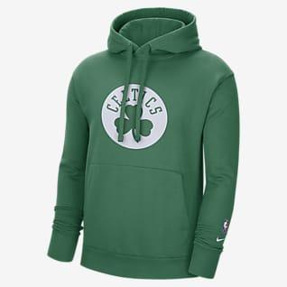 Boston Celtics Essential Men's Nike NBA Fleece Pullover Hoodie