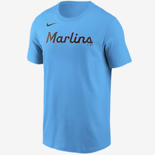 Nike Wordmark (MLB Miami Marlins) Men's T-Shirt