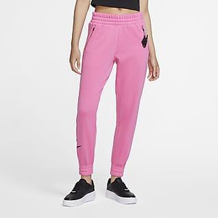 Nike Sportswear Pantalones de tejido Fleece 7/8 para mujer