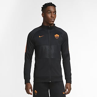 AS Roma Men's Football Tracksuit Jacket