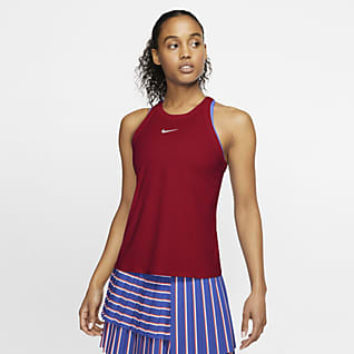 NikeCourt Dri-FIT Camisola de ténis sem mangas para mulher