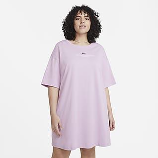 Nike Sportswear Swoosh Damska sukienka (duże rozmiary)