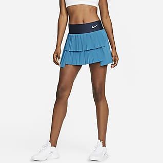 NikeCourt Advantage Damen-Tennisrock mit Falten