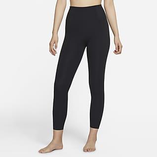 Nike Yoga Luxe Dri-FIT Infinalon 7/8 女子高腰紧身裤