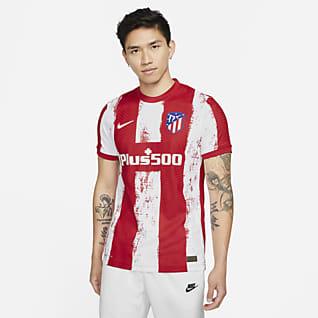Домашняя форма ФК «Атлетико Мадрид» 2021/22 Match Мужское футбольное джерси Nike Dri-FIT ADV