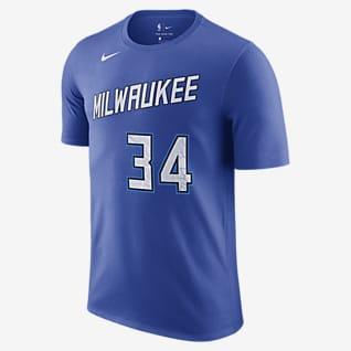 Milwaukee Bucks City Edition T-shirt Nike NBA - Uomo